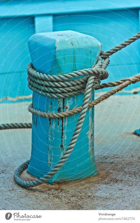 Holzboot im Hafen Fisch ruhig Freizeit & Hobby Ferien & Urlaub & Reisen Tourismus Sommer Strand Meer Arbeit & Erwerbstätigkeit Handwerk Seil Natur Landschaft