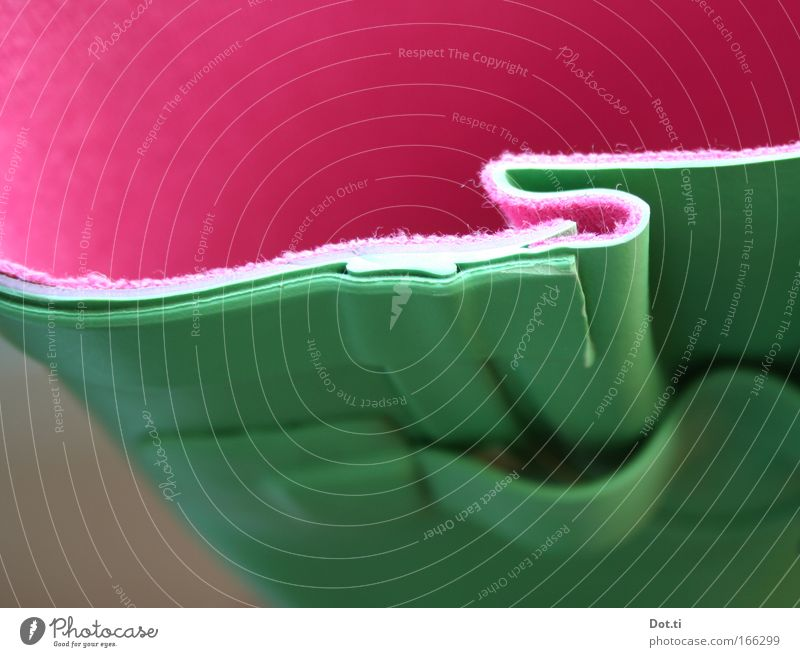 Einstieg grün Stil Schuhe rosa Bekleidung verrückt Falte Material Textilien Gartenarbeit Gummistiefel Kautschuk Farbkombination