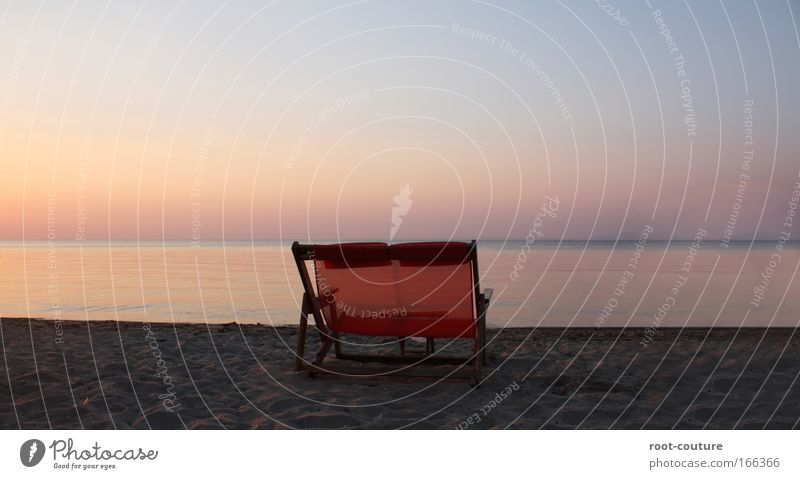 Licence to Chill Ferien & Urlaub & Reisen Ferne Umwelt Natur Landschaft Sand Wasser Horizont Sonnenaufgang Sonnenuntergang Sommer Wetter Schönes Wetter Strand