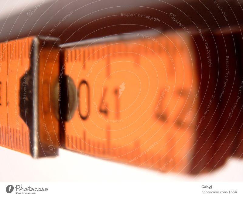 zollstock Baustelle Handwerk bauen Genauigkeit Skala 40 Zollstock Millimeter Maurerhandwerk Zentimeter
