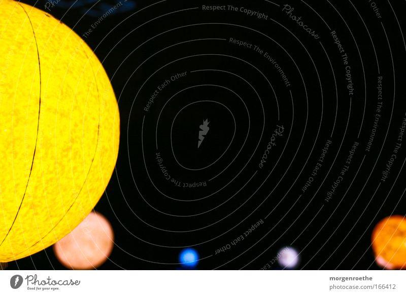 einblick in unser sonnensystem Sonne blau schwarz gelb Farbe rund Unendlichkeit Weltall Fragen Planet UFO Außerirdischer Raumfahrt Raumfahrzeuge Galaxie