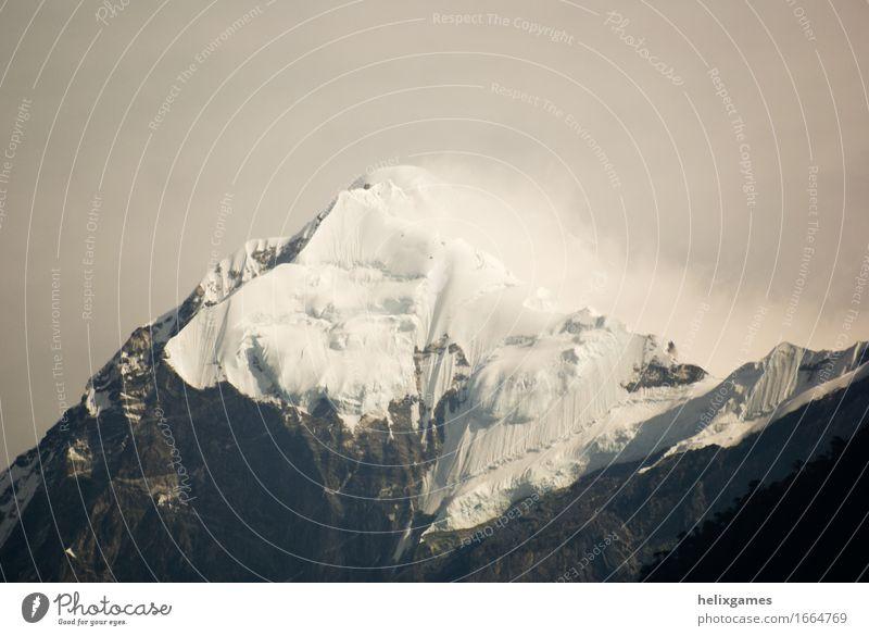 Pandim Ferien & Urlaub & Reisen Tourismus Ausflug Abenteuer Expedition Camping Schnee Berge u. Gebirge Klettern Bergsteigen Umwelt Natur Landschaft Himalaya