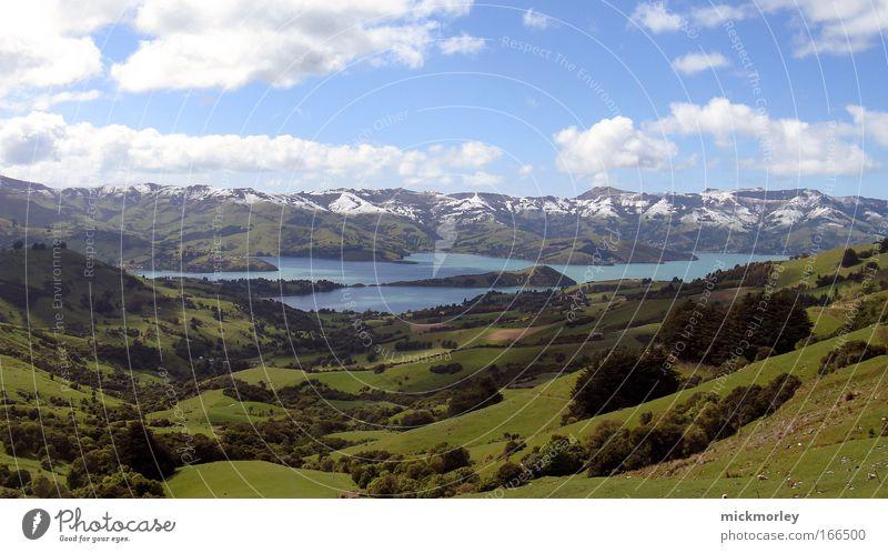 Dreamland Farbfoto Außenaufnahme Menschenleer Tag Panorama (Aussicht) Blick nach vorn Gesundheit harmonisch Erholung Ferien & Urlaub & Reisen Ferne Sommer
