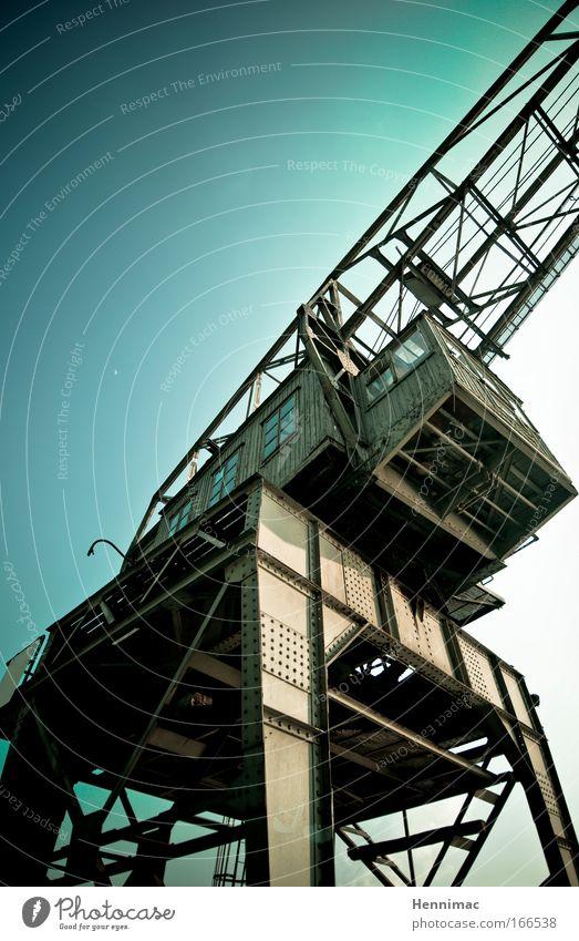 Stillstand. Arbeit & Erwerbstätigkeit Kraft Angst Industrie Baustelle Technik & Technologie Güterverkehr & Logistik Fabrik Gleise Stahl Hütte Rost Maschine