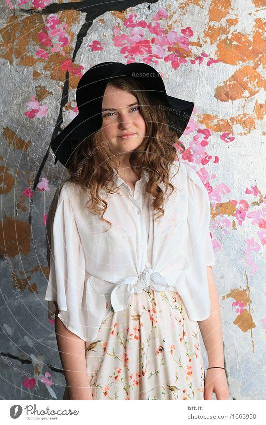 neue Hippies Jugendliche Freude Mädchen Lifestyle feminin Glück Feste & Feiern Party Kindheit Fröhlichkeit Veranstaltung Japan Lounge Japanisch Flowerpower