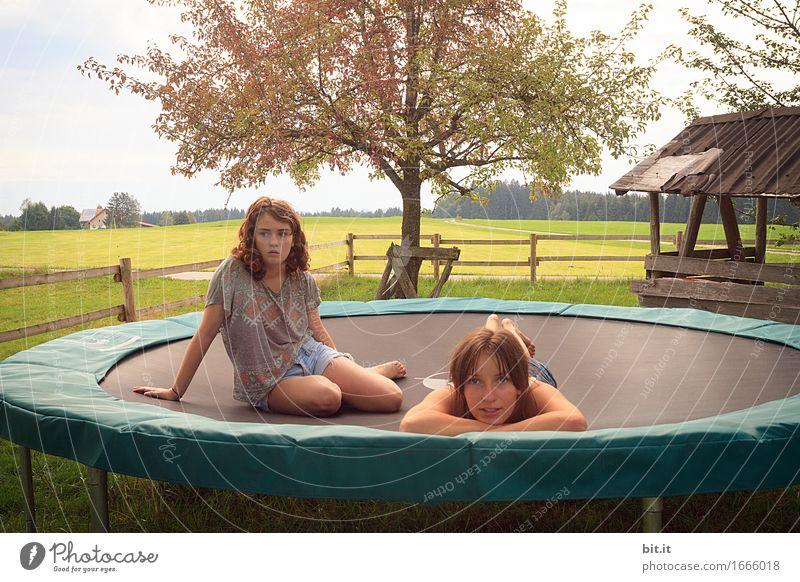 die Leichtigkit, des Seins Gesundheit Gesundheitswesen sportlich Fitness Leben Wohlgefühl Erholung ruhig Ferien & Urlaub & Reisen feminin Mädchen Geschwister