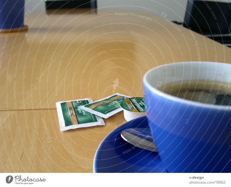 zuckertüte Büro Tisch Kaffee Tasse Zucker