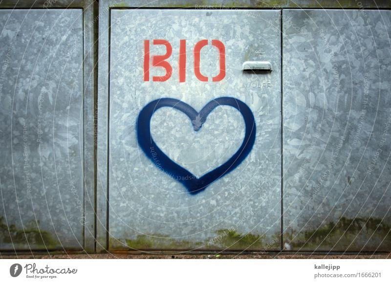 pure love Natur Umwelt Liebe Essen Graffiti natürlich Lifestyle Lebensmittel Frucht Tür Ernährung Herz kaufen Zeichen Gemüse Bioprodukte