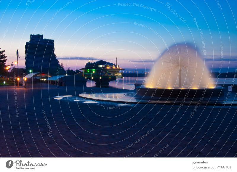 Wasser schön Stadt Freude Glück Park Gebäude Stimmung groß Fassade Platz Romantik Globus
