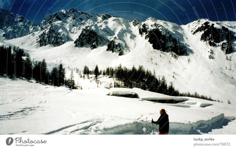 Welcher Berg hat gerufen? Himmel Winter Schnee Berge u. Gebirge Europa Skifahren Alpen