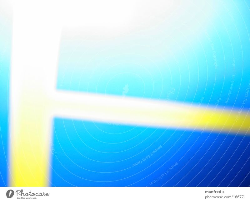 WGB Farbe Fahne Schweden Fototechnik