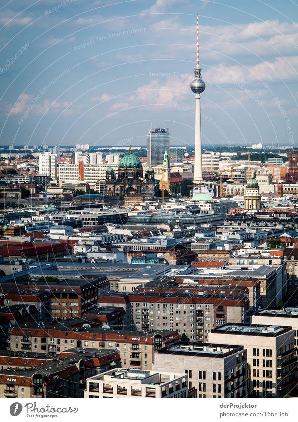 Berlin hat doch eine Skyline! Ferien & Urlaub & Reisen Tourismus Ausflug Abenteuer Sightseeing Städtereise Hauptstadt Stadtzentrum Turm Sehenswürdigkeit