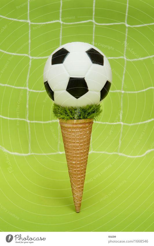 EM Eis + Topping grün Freude Essen Sport Spielen außergewöhnlich Feste & Feiern Deutschland Design Erfolg Kreativität Idee Fußball Fitness rund