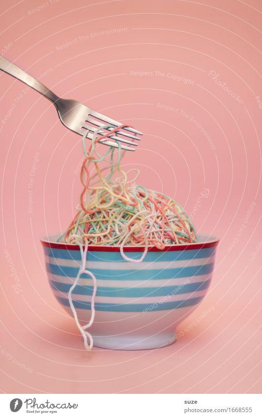 Nudelsuppe Gesunde Ernährung Speise Foodfotografie Essen lustig Lifestyle Stil außergewöhnlich Lebensmittel rosa Design Büro Kreativität genießen Idee
