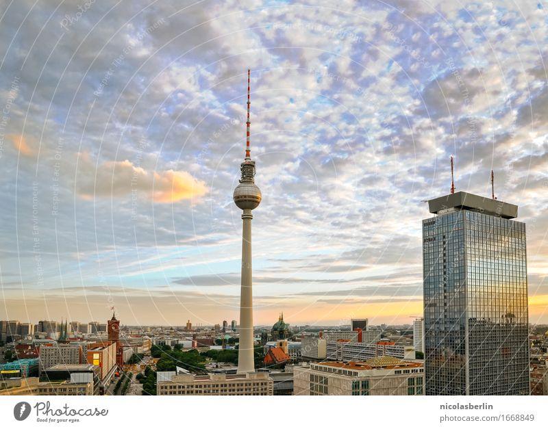Bärlin Ferien & Urlaub & Reisen Stadt Ferne Berlin Freiheit Tourismus Wohnung Horizont Häusliches Leben Freizeit & Hobby frei Ausflug Hochhaus Erfolg groß