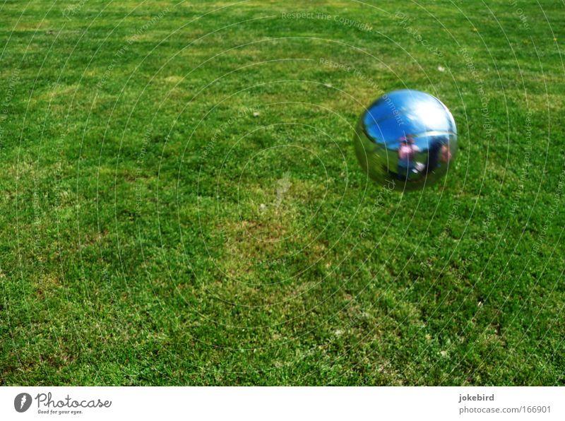 Ich seh mich Himmel Natur grün Sommer Erholung Freude Wiese Gras Spielen Garten Metall Zusammensein Park Freizeit & Hobby Geschwindigkeit Schönes Wetter