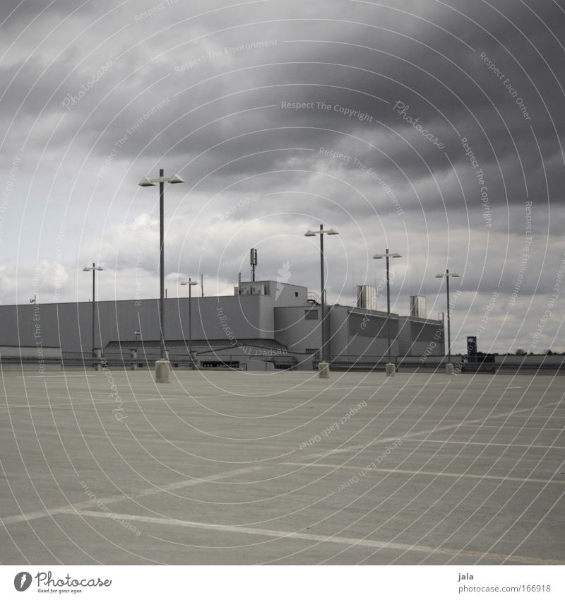 Weather observation Farbfoto Gedeckte Farben Menschenleer Textfreiraum oben Textfreiraum unten Tag Schatten Himmel Wolken Gewitterwolken schlechtes Wetter