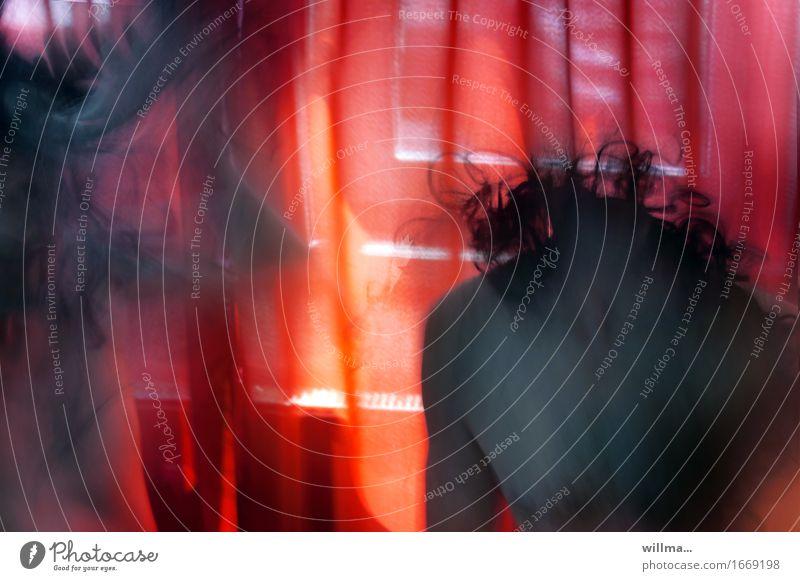wild thing   AST9 Mann nackt rot schwarz Erwachsene außergewöhnlich Feste & Feiern Haare & Frisuren Party maskulin träumen verrückt Todesangst Wut Leidenschaft