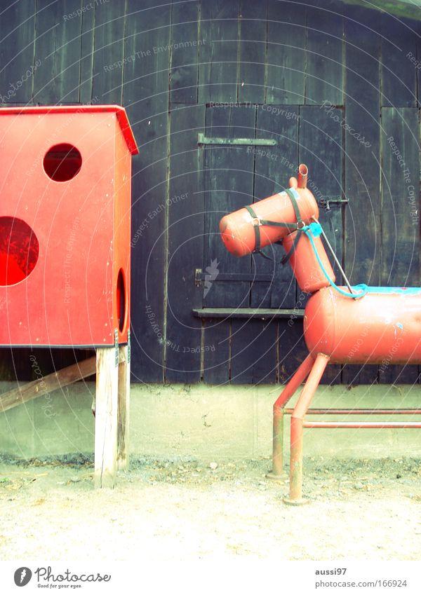 Reiterliche Vereinigung Tier Metall Freizeit & Hobby Pferd Reitsport Reiten Attrappe Tierfigur