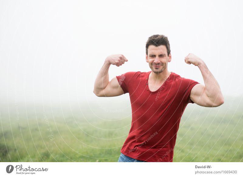 Muckis Mensch Ferien & Urlaub & Reisen Jugendliche Mann schön Gesunde Ernährung Junger Mann ruhig Ferne 18-30 Jahre Erwachsene Leben lustig Lifestyle Gesundheit