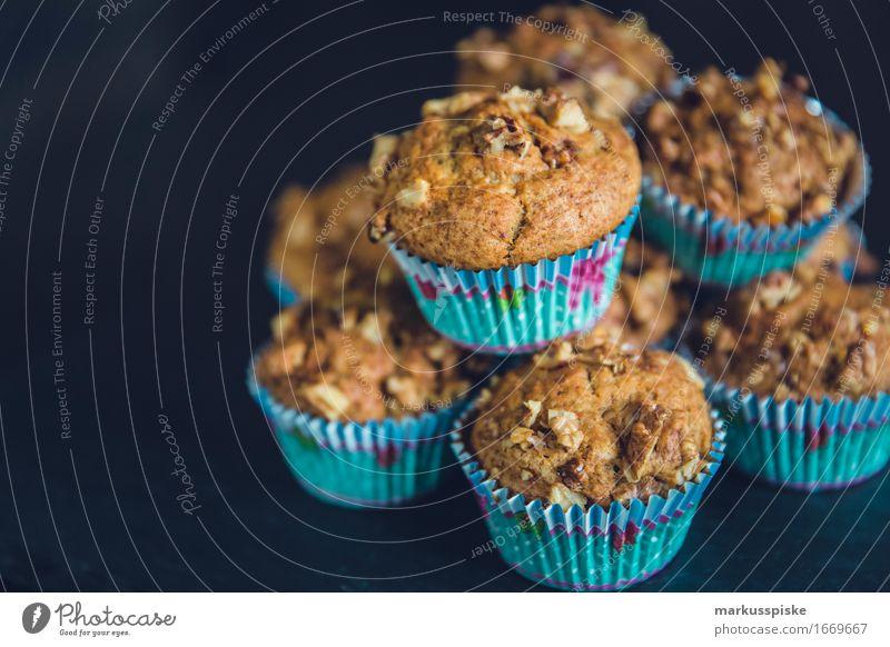 hausgemachte muffins walnuß & schoko Dessert Valentinstag trendy genießen Cake baked bakery baking brown Brunch chocolate crumble Cupcake cups food fresh