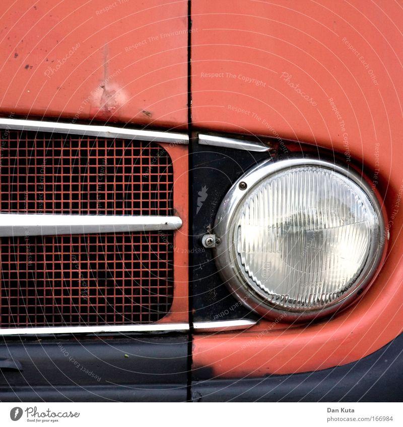 L 319 alt rot schwarz braun Metall Glas Design Verkehr Sicherheit ästhetisch retro Güterverkehr & Logistik Vergänglichkeit einzigartig außergewöhnlich Lastwagen