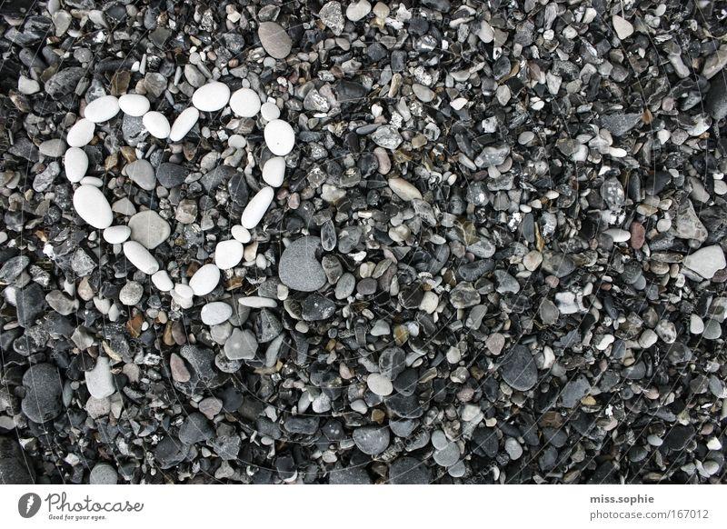 lovestoned Natur blau schön weiß Einsamkeit Liebe Gefühle Küste Glück grau Stein Zusammensein Herz einzigartig Romantik Hoffnung