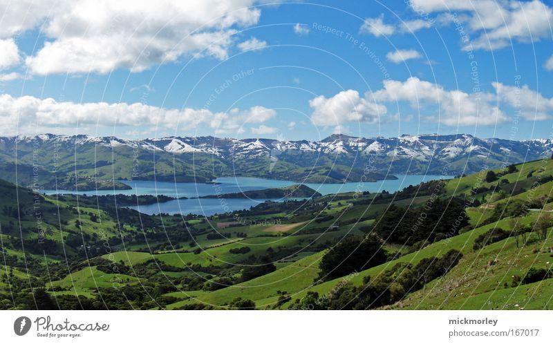 Traumland Farbfoto Außenaufnahme Menschenleer Tag Panorama (Aussicht) Blick nach vorn Wohlgefühl Zufriedenheit Sinnesorgane Erholung ruhig