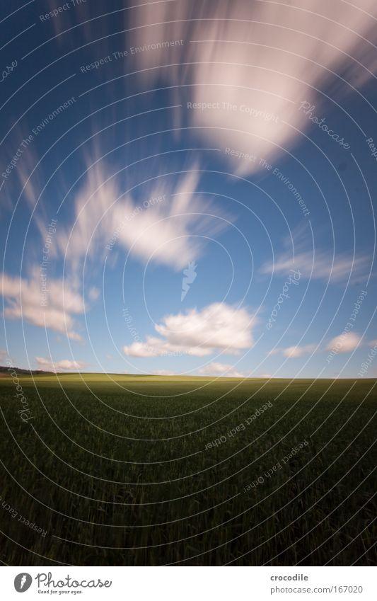wolkenfetzen IV Schatten Langzeitbelichtung Starke Tiefenschärfe Zentralperspektive Weitwinkel Umwelt Natur Landschaft Pflanze Luft Wolken Horizont Frühling