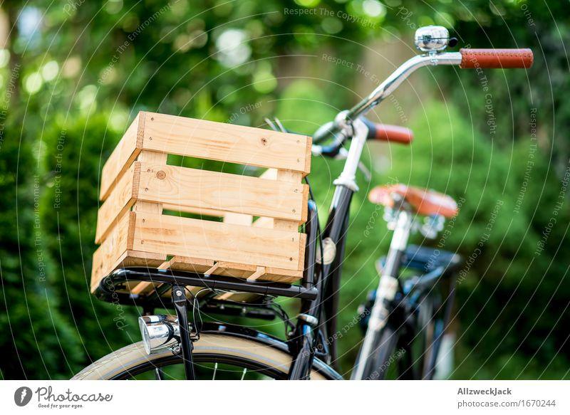 Hollandrad-Porn 8 Fahrradfahren ästhetisch authentisch trendy retro schön nachhaltig Nostalgie Güterverkehr & Logistik Lastenfahrrad Holzkiste Farbfoto