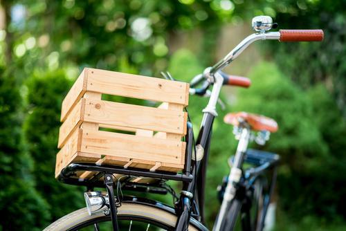 Hollandrad-Porn 8 Stadt schön Fahrrad ästhetisch authentisch retro Fahrradfahren Güterverkehr & Logistik trendy nachhaltig Nostalgie Holzkiste Lastenfahrrad