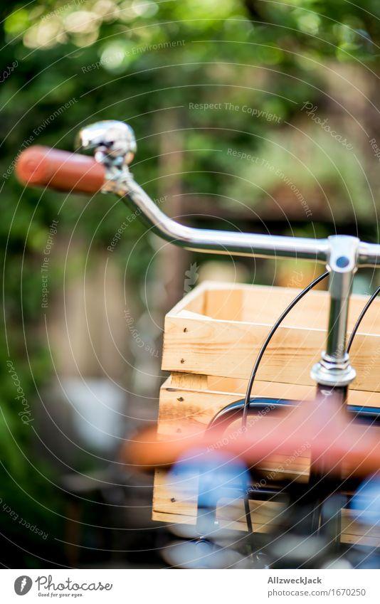 Hollandrad-Porn 7 Fahrradfahren ästhetisch authentisch trendy retro braun grün schwarz Mobilität nachhaltig Nostalgie Güterverkehr & Logistik Holzkiste