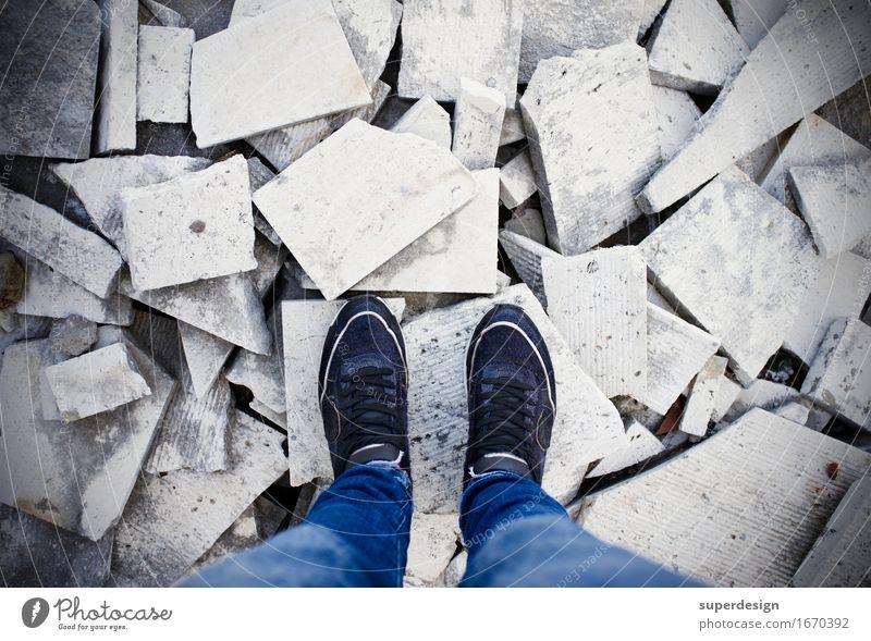 mein Leben, ein Trümmerhaufen Einsamkeit Traurigkeit Tod Stein Zukunft kaputt Trauer Wut Verzweiflung Sorge Rauschmittel selbstbewußt gebrochen Alkohol