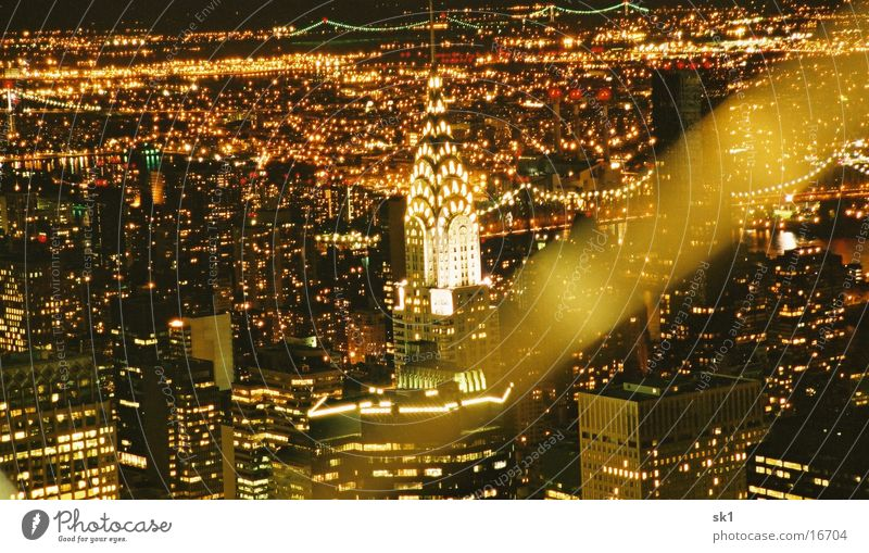NY by night II New York City Lichtermeer