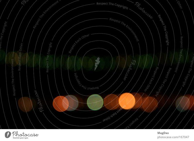 lightplay ruhig kalt glänzend Horizont modern ästhetisch Nachthimmel einzigartig außergewöhnlich Originalität