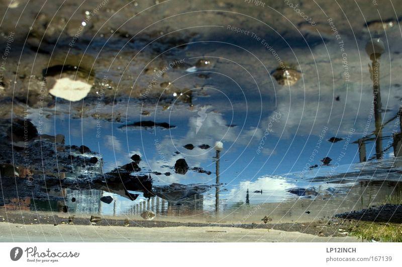 Wohlverdiente Mittagspause Nr_2 Natur Wasser Himmel blau Wolken kalt Stein Gebäude braun Kunst dreckig Umwelt Beton Erde verrückt modern