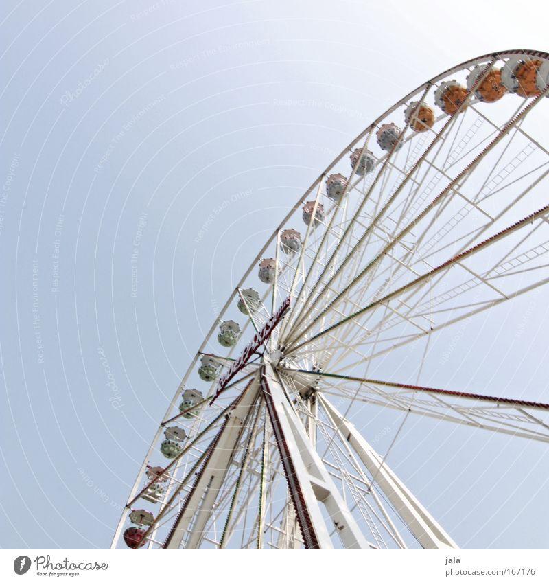 Giant Himmel Freude Glück groß frei fahren Veranstaltung Jahrmarkt Oktoberfest Entertainment Riesenrad gigantisch
