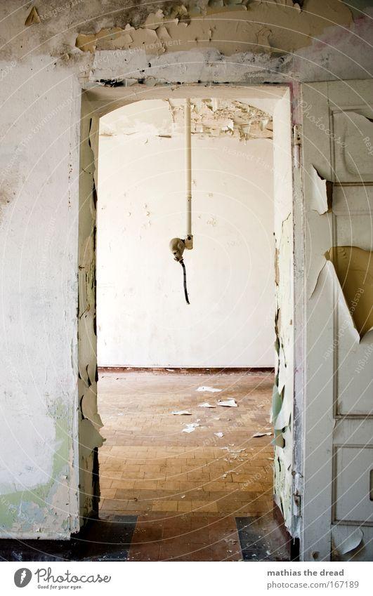 BELÜFTUNGSKAMMER Einsamkeit Wand Tod Traurigkeit Mauer Angst Tür gefährlich Fabrik Sehnsucht verfallen Müdigkeit Stress Verzweiflung Ruine