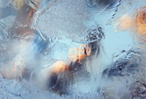 warmeisig | tlön Wasser Winter kalt Eis Glas Urelemente Frost Lichtspiel Klimawandel hell-blau Lichtblick