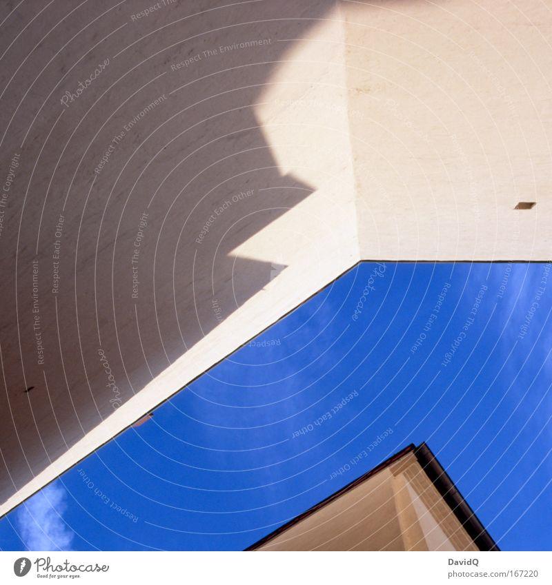 urbane sprechblase blau Haus Wand Gebäude Mauer Fassade Altstadt Sprechblase