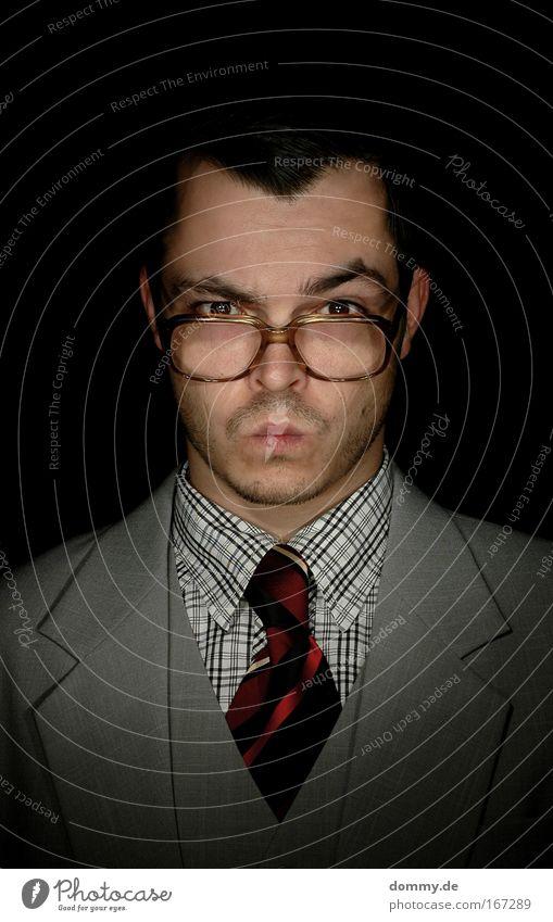 Guten Morgen Mensch Mann Gesicht Auge Kopf Haare & Frisuren Stimmung Erwachsene Business Mund Haut Nase maskulin Brille Ohr Autotür