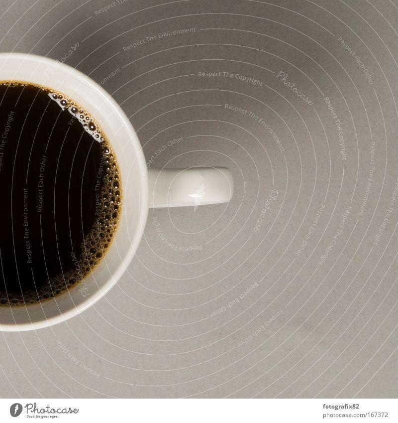 frühstück zum zweiten Lebensmittel Getränk Kaffee trinken heiß Tasse Espresso Mahlzeit Heißgetränk