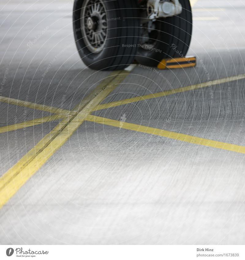 Parkposition Technik & Technologie Fortschritt Zukunft High-Tech Luftverkehr Verkehr Verkehrsmittel Verkehrswege Personenverkehr Flugzeug Passagierflugzeug