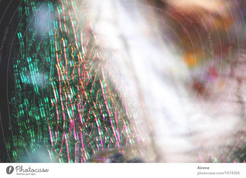 AST 9 | zerbrechlich Glas Ornament Netz Netzwerk glänzend leuchten fantastisch hell verrückt grün orange rosa weiß Leben träumen Drogensucht bizarr erleben