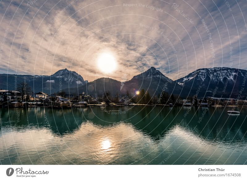 Wasserspiegelungen Leben harmonisch Wohlgefühl Zufriedenheit Sinnesorgane Erholung ruhig Meditation Angeln Ferien & Urlaub & Reisen Tourismus Ausflug Abenteuer