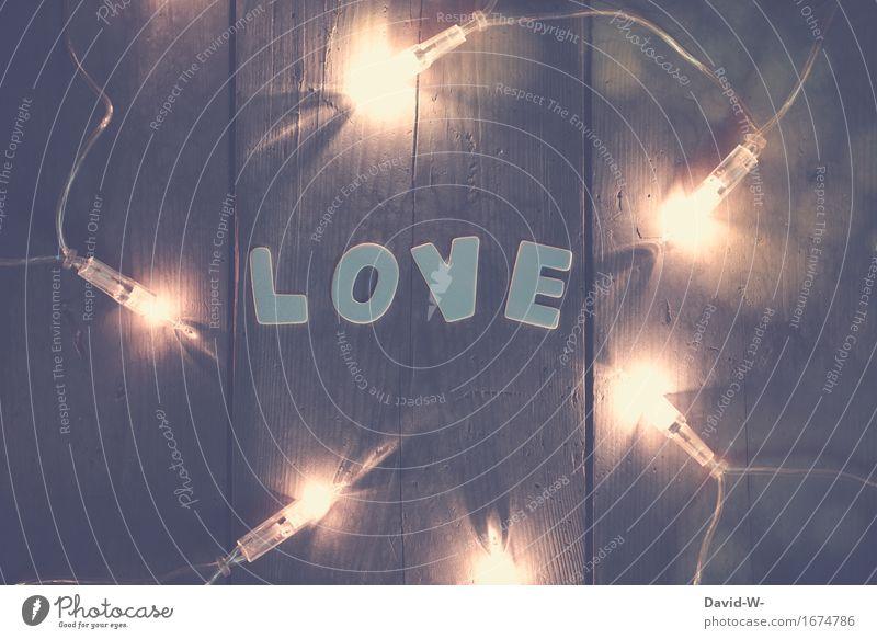 LOVE Kunst Küssen Gefühle Glück Lebensfreude Leidenschaft Zusammensein Verliebtheit Ehrlichkeit Liebe schön elegant Lichterscheinung Lichterkette Lichtspiel
