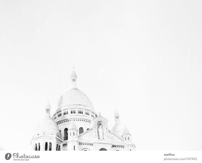 l'eglise blanche weiß schön Ferien & Urlaub & Reisen Religion & Glaube Tourismus ästhetisch außergewöhnlich Kirche Romantik Paris historisch Wahrzeichen