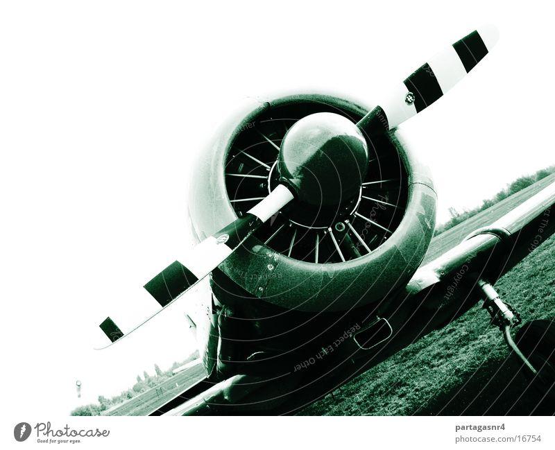 amerikanischer Jäger Flugzeug Technik & Technologie historisch Propeller Elektrisches Gerät