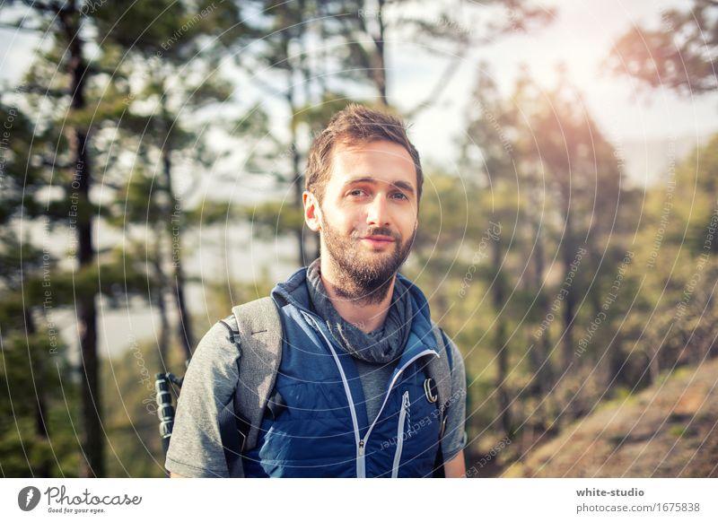 Draußen Zuhaus Ferien & Urlaub & Reisen Einsamkeit Wald 18-30 Jahre Berge u. Gebirge Gesundheit Sport Freizeit & Hobby Zufriedenheit wandern Abenteuer Fitness