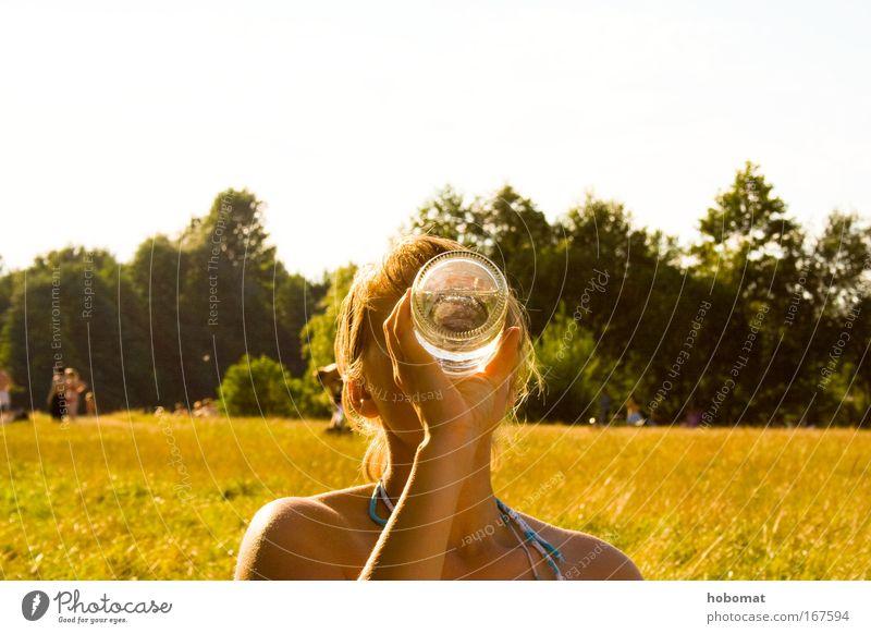 Bild mit Kohlensäure Farbfoto mehrfarbig Außenaufnahme Nahaufnahme Tag Licht Kontrast Lichterscheinung Sonnenlicht Zentralperspektive Porträt Blick nach vorn